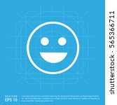smiley icon  face icon | Shutterstock .eps vector #565366711