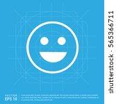 smiley icon  face icon | Shutterstock .eps vector #565366711