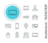 vector illustration of 12... | Shutterstock .eps vector #565367839