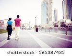 Tourists In Dubai