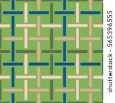 Geo Seamless Pattern In Color...