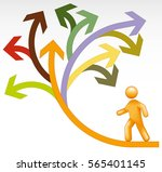 choices | Shutterstock .eps vector #565401145