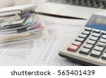 accounting business concept.... | Shutterstock . vector #565401439