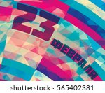 template of flyer to defender... | Shutterstock .eps vector #565402381
