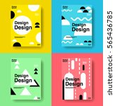 layout design template  cover... | Shutterstock .eps vector #565436785