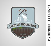 mountain logo | Shutterstock .eps vector #565450345