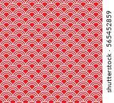 seamless traditional japanese... | Shutterstock .eps vector #565452859