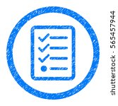 rounded checklist rubber seal...