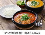 moqueca capixaba  brazilian... | Shutterstock . vector #565462621