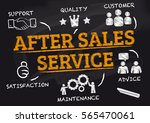 after sales service  ... | Shutterstock . vector #565470061