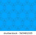 modern geometric seamless... | Shutterstock .eps vector #565481335