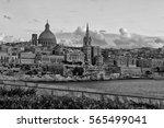 landscape of valletta malta.