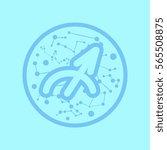 zodiac sign sagittarius | Shutterstock .eps vector #565508875
