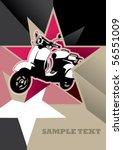designed banner with modern... | Shutterstock .eps vector #56551009