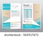 brochure  flyer  leaflet ... | Shutterstock .eps vector #565517671