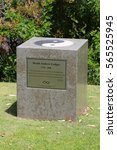 Small photo of PERTH, AUSTRALIA - 29 JUNE 2016: Concrete block in a park dedicated to Perth resident & film star Heath Ledger. Ledger died on 22 Jan 2008 from an accidental overdose of prescription drugs. Editorial