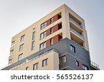modern apartment building | Shutterstock . vector #565526137