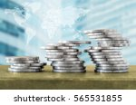 success in business concept.... | Shutterstock . vector #565531855