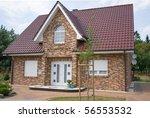rural residence   Shutterstock . vector #56553532
