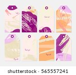 grunge texture rough strokes... | Shutterstock .eps vector #565557241