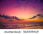 nature in twilight period ... | Shutterstock . vector #565559419