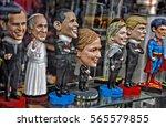 Miniature Figures Of Political...