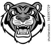 tiger mascot illustration | Shutterstock .eps vector #565597729