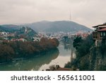 a view on old traditional... | Shutterstock . vector #565611001