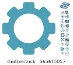 gear pictograph with bonus... | Shutterstock .eps vector #565615057