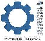gear pictograph with bonus... | Shutterstock .eps vector #565630141