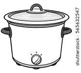 potluck illustration   Shutterstock .eps vector #565632547