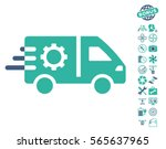 service car pictograph with... | Shutterstock .eps vector #565637965