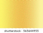 abstract yellow red gradient... | Shutterstock .eps vector #565644955
