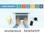 cyber security concept with