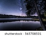 A Starry Night Sky At A...