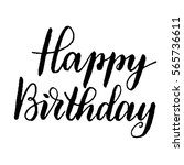 """happy birthday""   hand drawn... 