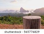 Tree Stump Chair With Sa Met...