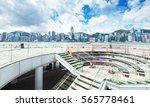 hong kong harbour | Shutterstock . vector #565778461