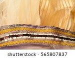 texture lace. a fine open... | Shutterstock . vector #565807837
