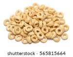 Whole Grain O Cereal Isolated...