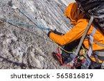 Climber Closeup With Equipment...