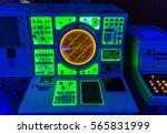 navigation marine radar on... | Shutterstock . vector #565831999