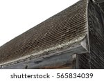 Cedar Shake Roof On Old Barn