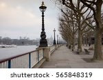 Lampposts On The South Bank Of...