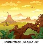 Prehistoric Landscape   Volcan...