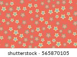 seamless texture of chaotic... | Shutterstock .eps vector #565870105