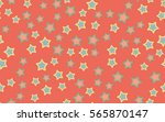 seamless texture of chaotic... | Shutterstock .eps vector #565870147