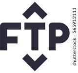 ftp vector icon