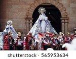 Coya  Pisac  Cusco  Peru  Sout...
