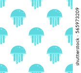Pattern With Jellyfish Color...